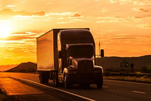 3.stock-photo-41493268-truck-on-highway-at-sunset